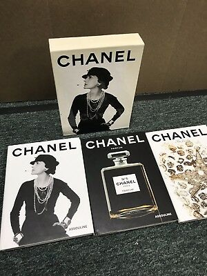 Chanel Box Set - Lot Of 3 Books HB DJ