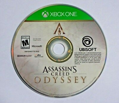 Assassin's Creed Odyssey Standard Edition - Xbox One - Game Disc ONLY - VG