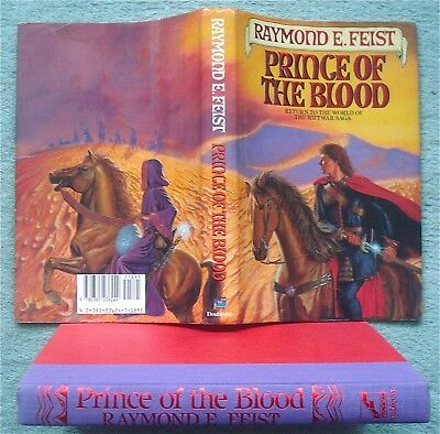Raymond E Feist First American Edition Prince Of Blood Hb/dj 1989 Riftwar Saga