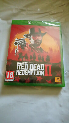 Red Dead Redemption 2 - Standard Edition (Xbox One, 2018) brand new sealed box.