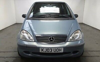 2003 Mercedes A160 Classic Petrol 5 Speed Manual 5 Dr Hatch Low Miles With Servc