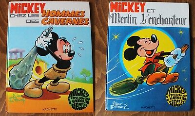 Lot 2 Mickey A Travers Les Siecles