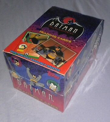 1993 Topps Batman The Animated Series 1 Trading Cards Factory Sealed Box MINT