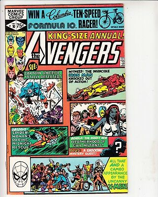 Avengers King Size Annual #10 featuring 1st appearance of Rogue...see scans