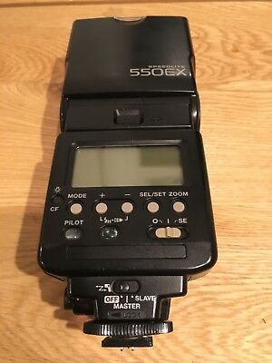 Canon 550EX Speedlite Flash - Rarely Used, With Case & Instruction Booklet