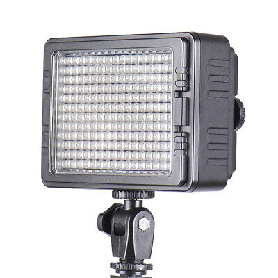204*LED Video Light Lamp Dimmable Panel for Canon Nikon & ALL DSLR Camera F6Y7