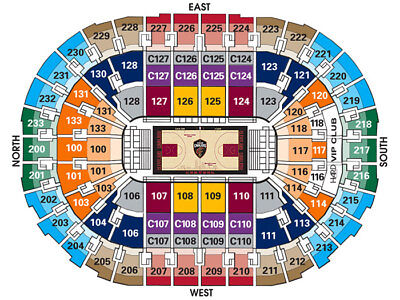 (2) Tickets Cleveland Cavaliers Cavs vs Miami Heat 1/25 Dwade last game in CLE?