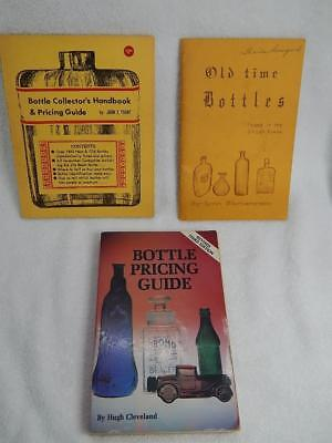 Vintage Antique Bottle Price Guides Books Blumenstein, John Yount, Cleveland