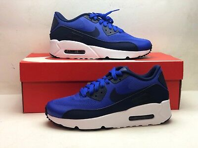 wholesale dealer 033ac 2e05f NIKE AIR MAX 90 ULTRA 2.0 GS 869950 401 PARAMOUNT BLUE BINARY Size 5.5Y  Youth