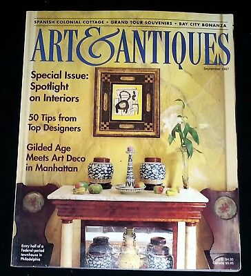 Art & Antiques Magazine - September 1997 Special Issue: Spotlight on Interiors