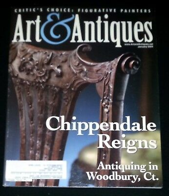 Art & Antiques Magazine - January 2004 Chippendale Reigns
