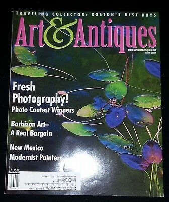 Art & Antiques Magazine - June 2004 Fresh Photography!