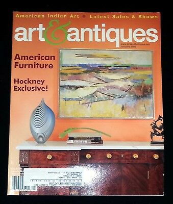 Art & Antiques Magazine - January 2005 American Furniture