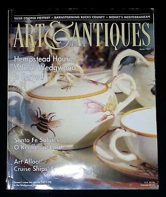 Art & Antiques Magazine - June 1997 Hempstead House: Where Wedgwood is Served