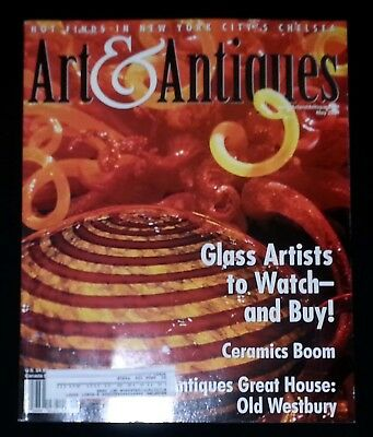 Art & Antiques Magazine - May 2004 Glass Artists To Watch-- And Buy