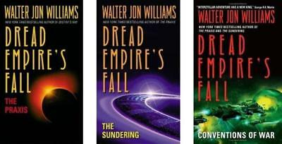 3 DREAD EMPIRE FALL Praxis + Sundering + Conventions of War Science Fiction