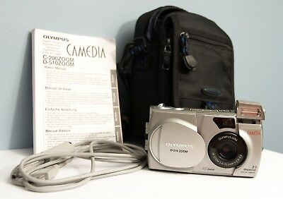 Olympus Camedia D-510 Zoom Digital Camera w/ 128MB Sandisk - Excellent Condition