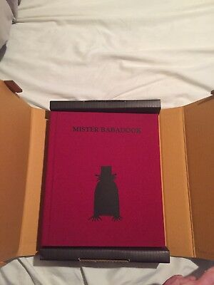 Mister Babadook Pop-Up Book 1st Edition Signed by Jennifer Kent w/ original box