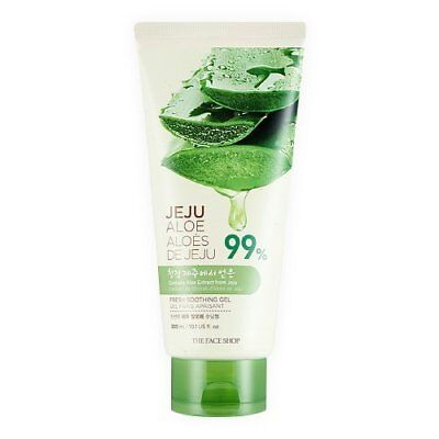 [THE FACE SHOP] Jeju Aloe Fresh Soothing Gel (TUBE) - 300ml