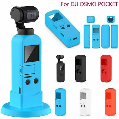 Silicone Camera Cover Case Protector For DJI OSMO POCKET Gimbal With Lanyard VS