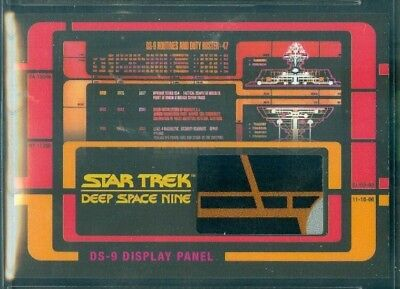 Star Trek DS9 Heroes & Villains  ( RC 1 ) Routines & Duty Roster Relic Card # 2
