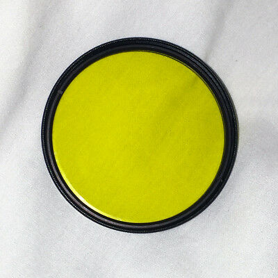 NEW Genuine CANON 58mm Yellow 2 (8) Camera Lens Filter USA Canon Nikon Sony DSLR