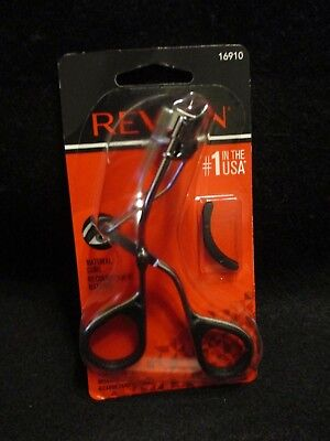 REVLON Natural Curl Eye Lash Curler + Replacement Head #16910 {BRAND NEW/SEALED}