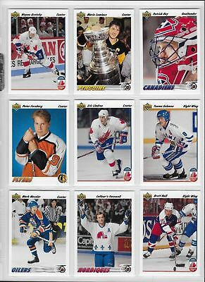 1991-92 Upper Deck High Series Hockey Cards (501-700) -  Pick From List