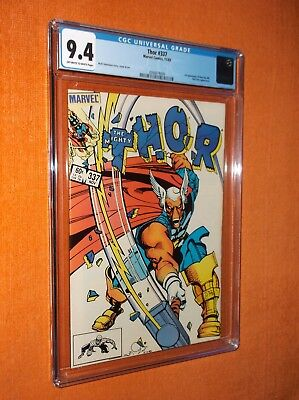 THOR #337 CGC 9.4 {1st Beta Ray Bill app.} - Beautiful, well-centered copy!!!