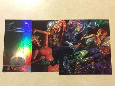 MARS ATTACKS & INDEPENDENCE DAY - Holo-Foil Inserts  1996 TOPPS