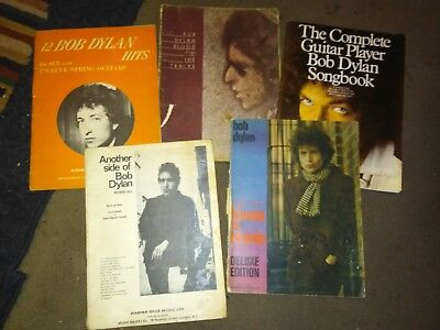 BOB DYLAN  Songbooks inc. Blood On The Tracks and Blonde on Blonde