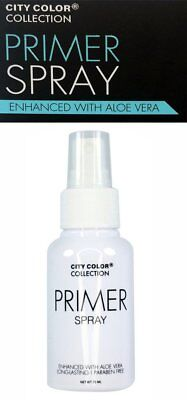 City Color Face Primer Spray Enhanced with Aloe Vera Long-lasting 75ml NEW