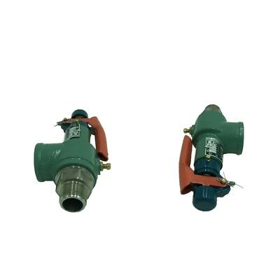 2Pcs Control Device-Pressure Relief Valve, 0.7-1.0MPa Safety Relief Valve
