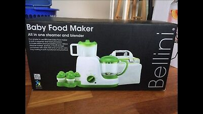 Brand New, Sealed - Bellini Baby Food Maker - BBT100G