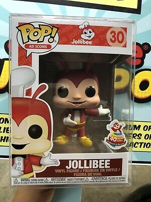 Funko Pop JOLLIBEE Ad Icons 40th Anniversary Philippines Exclusive FREE SHIPPING
