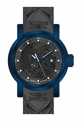28183 Invicta Men's 'S1 Rally' Automatic Grey Silicone Watch