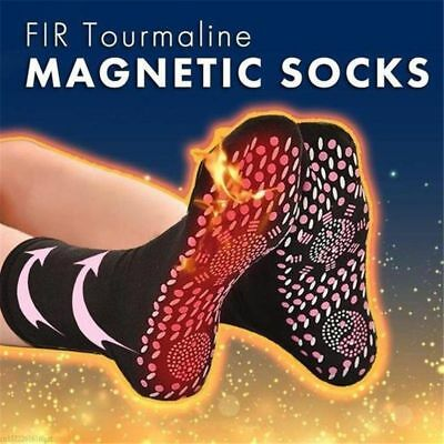 Health Self Heating Magnetic Tourmaline Foot Pain relief  Therapy Sock Infrared