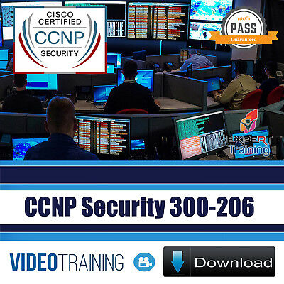 Cisco CCNP Security 300-206 SENSS  Exam 30 Hours Video Training Course DOWNLOAD