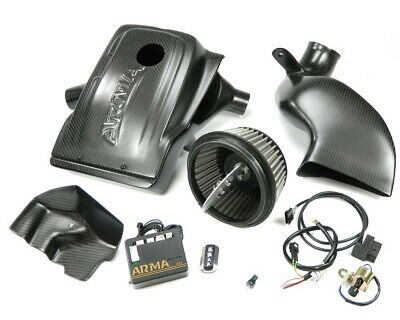 ARMA Hyper-Flow Carbon Air-Intake-System, Airbox - variabel - BMW E60 535 N54