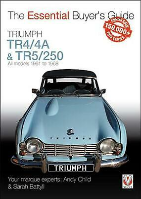 Triumph Tr44a Tr5250 All Models 1961 1968 The Essential Buyers