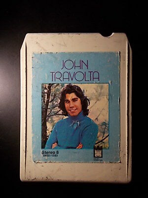 8-Track / 8-Spur Tonband /Cartridge :  JOHN TRAVOLTA