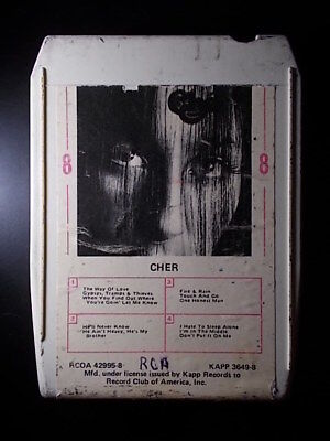 8-Track / 8-Spur Tonband /Cartridge :  CHER