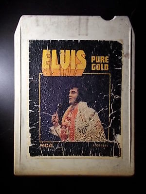 8-Track / 8-Spur Tonband /Cartridge :  ELVIS PRESLEY - Pure Gold