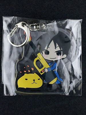 Fullmetal Alchemist Acrylic Key Holder Ring Tokyu Hands Limited Roy Mustang