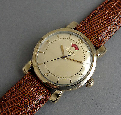 JAEGER LECOULTRE POWERMATIC 10K Gold Filled Vintage Automatic Watch 1955