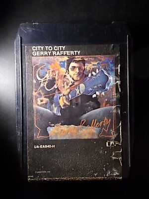 8-Track / 8-Spur Tonband /Cartridge :   GERRY RAFFERTY - City To City
