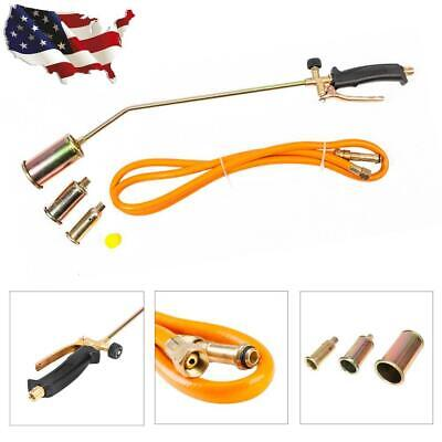 "Propane Torch w/3 Nozzles + 79"" Hose