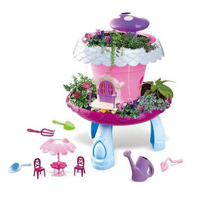 Magical Cottage Plant Kids Pretend Garden Toy DIY Plant House Educational Toy HP