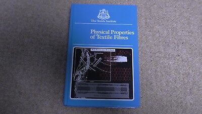 Physical Properties of Textile Fibres - W E Morton and J W S Hearle