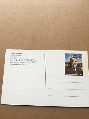 "Postkarte 1993 ""Charles Goodnight"" NEU"